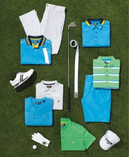 Greenbriar Color Story (Image via Callaway Apparel and Perry Ellis International)