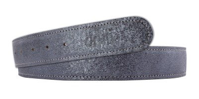 Druh Crystal Leather Strap in Graphite