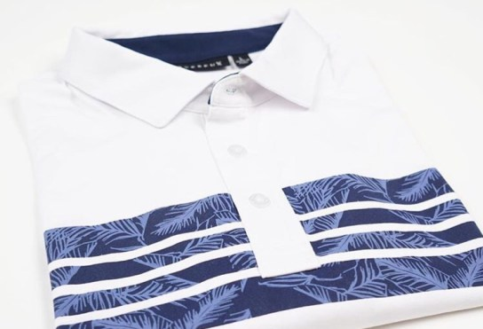 The Duke Polo in Navy