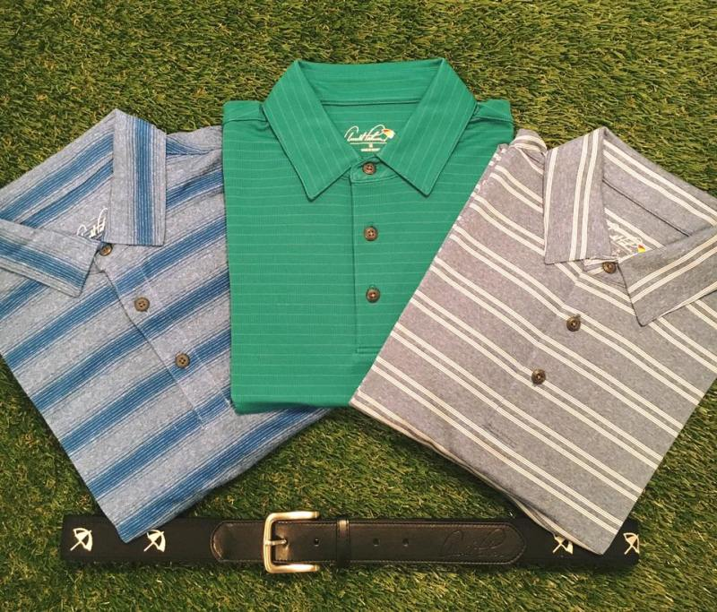 Arnold Palmer Cori Polo, Aster Pullover, and Braided Belt