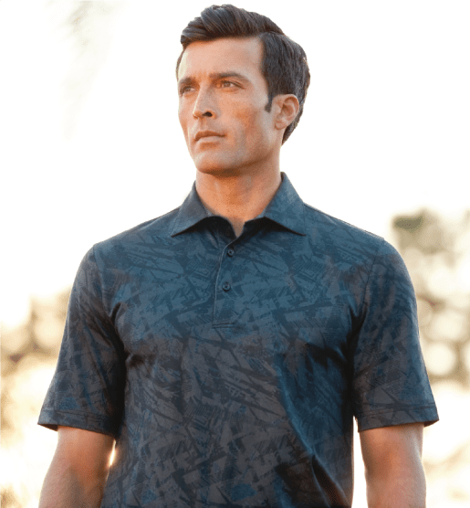 Greg Norman Modern Heritage Floral Polo