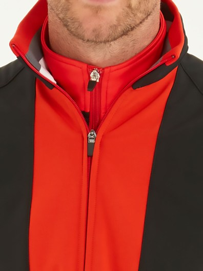 bunker mentality outerwear elliott-red-zip