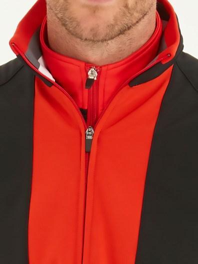 bunker mentality outerwear elliott-red-zip