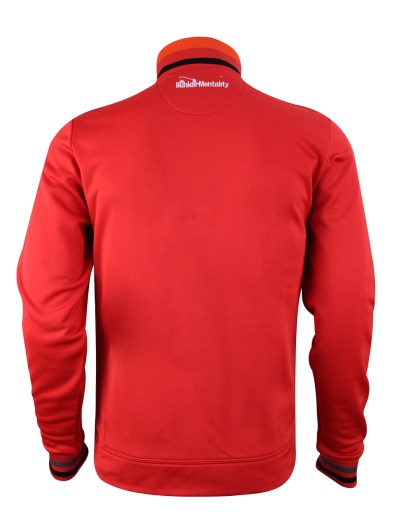 bunker-mentality-outerwear-quarter-zip-red-back