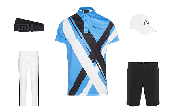 J.Lindeberg Art Polo Collection 3 Outfit 1