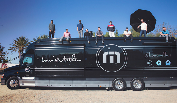 travismathew tour bus
