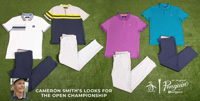 Cameron Smith 2018 Open Championship Apparel Scripts