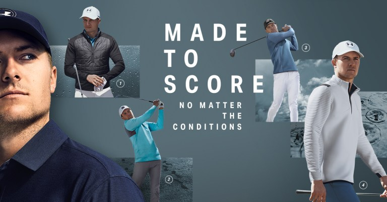 Jordan Spieth Layers 2018 Open Championship Apparel Scripts