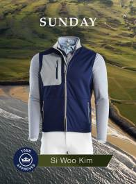 Si Woo Kim 2018 Open Championship Apparel Scripts Sunday