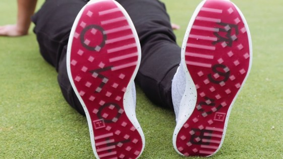 tomo golf knit sole