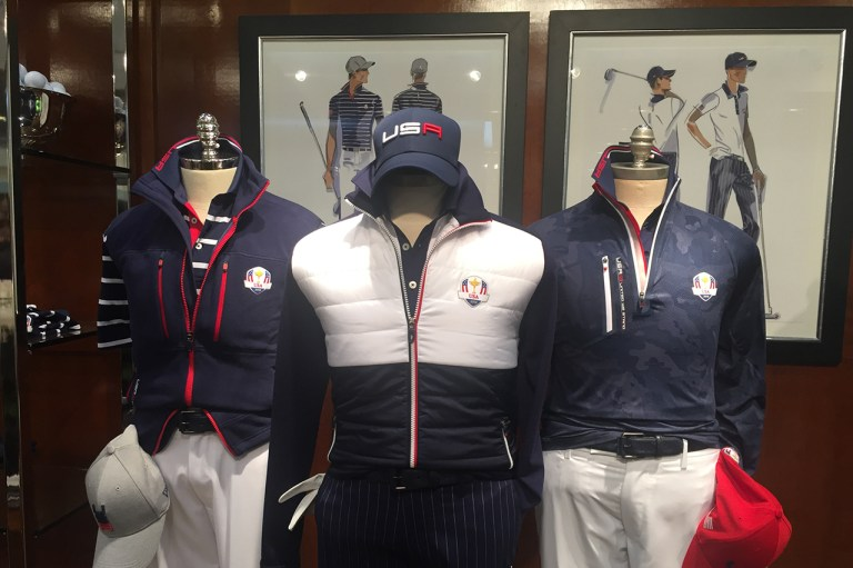 U.S. Ryder Cup Uniforms Feature