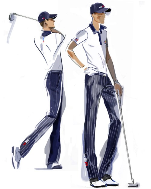 U.S. Ryder Cup Uniforms Saturday