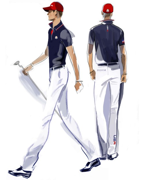 U.S. Ryder Cup Uniforms Sunday