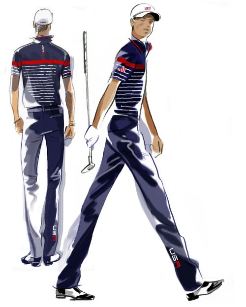 U.S. Ryder Cup Uniforms Thursday