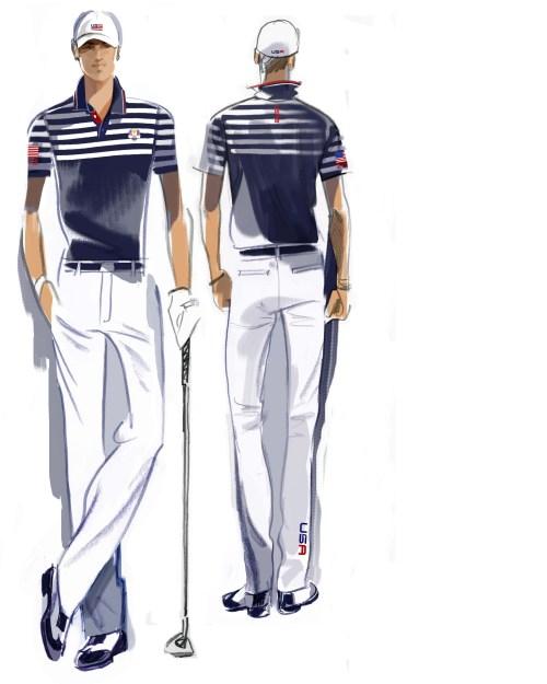 U.S. Ryder Cup Uniforms Wednesday