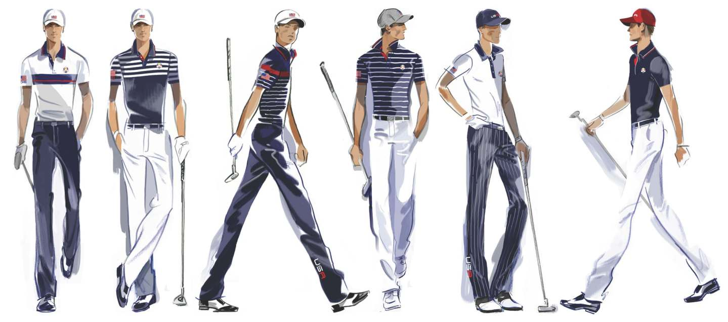U.S. Ryder Cup Uniforms Week