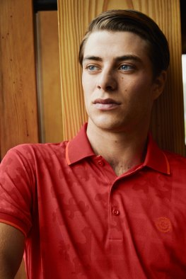 galvin green edge red shirt
