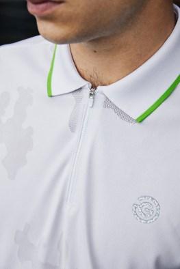 galvin green edge white shirt