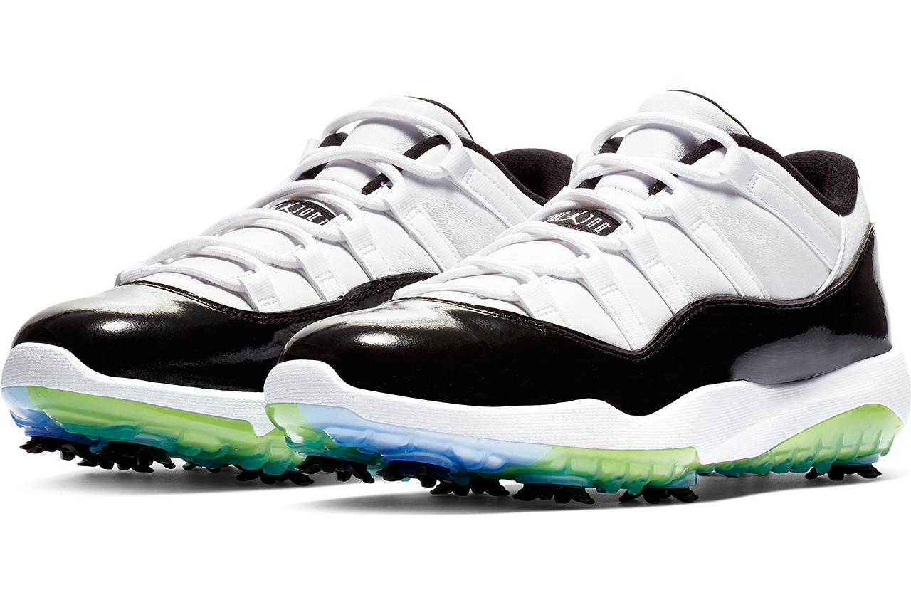 8f8dad01f1eb Air Jordan XI Golf Shoes  An In-Hand Preview