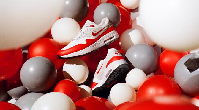 air max 1 red 1