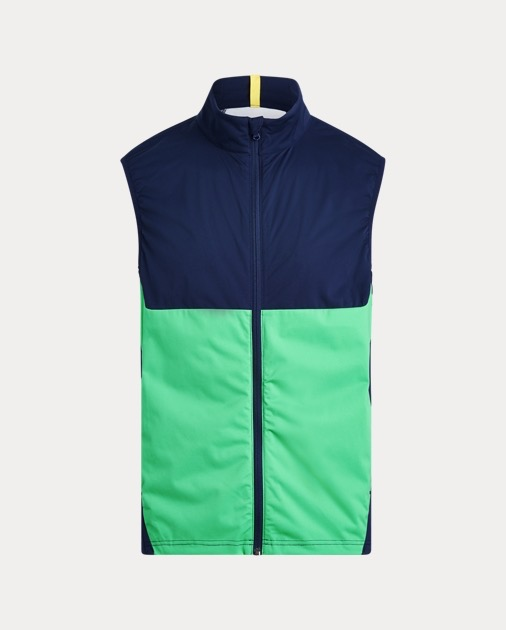 rlx golf interlock vest