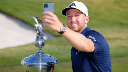 Daniel Berger wins the Charles Schwab Challenge in a playoff