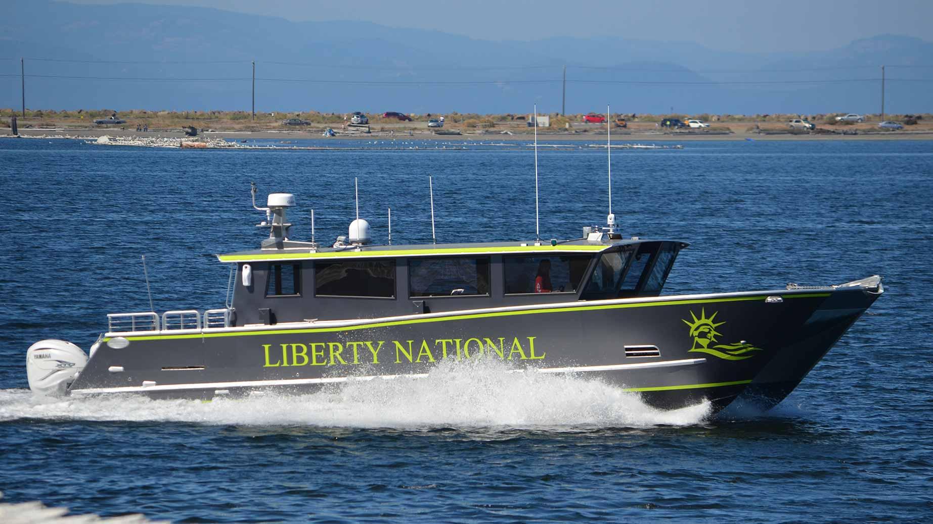 liberty national yacht
