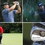 Bryson DeChambeau, Dustin Johnson and Tiger Woods