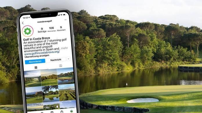 Costa Brava Golf Instagram