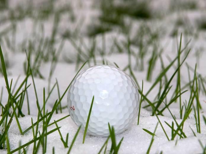 Winter-Golf