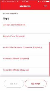Bridgestone BFit Golf Ball Fitting Add Player
