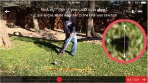 Bridgestone BFit Golf Ball Fitting Identify markers