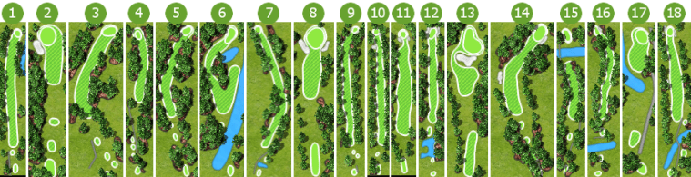 Hole Layout