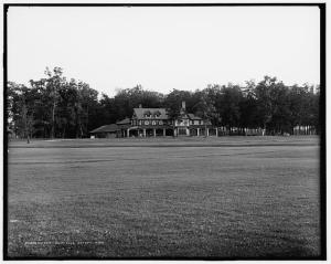 Detroit Golf Club in 1908