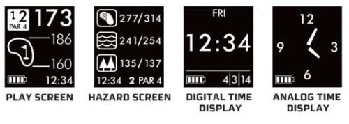 golfsync screens