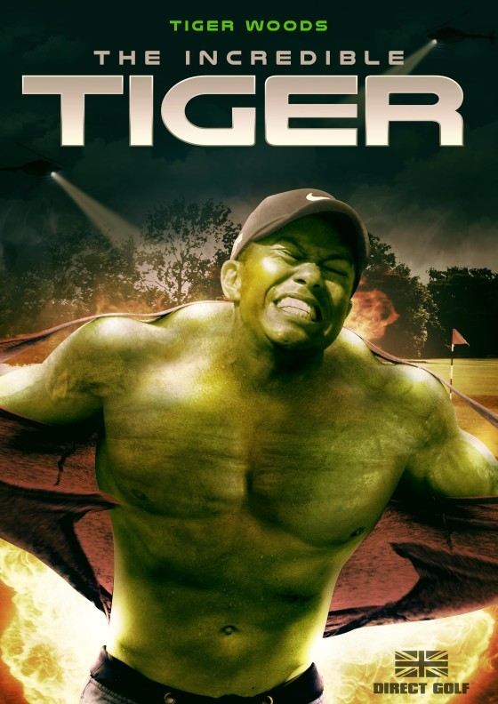 Direct Golf - The Incredible Tiger