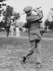 Harry Vardon, winner of six Open Championships