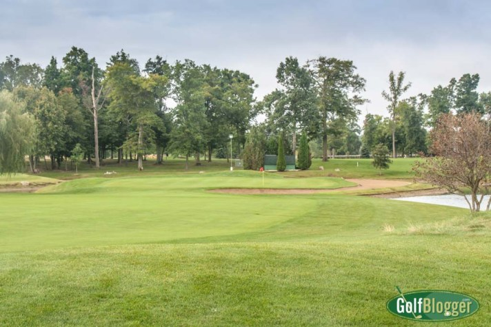 The green on the third Hole at Tanglewood North