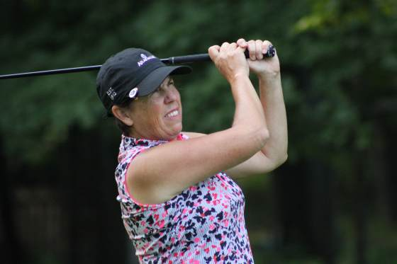 Terry Delcamp Defends GAM Senior Women's Title