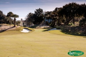 The Links at Wild Dunes fifth hole approach