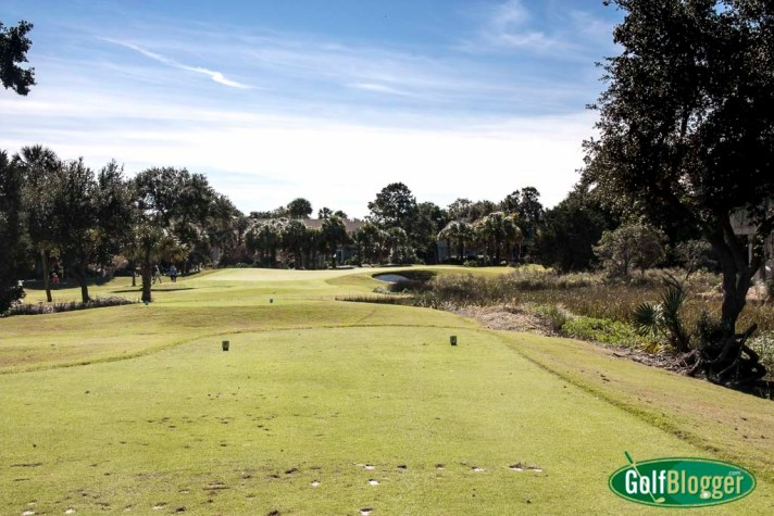 The fourth at Wild Dunes is a 177 yard par 3.