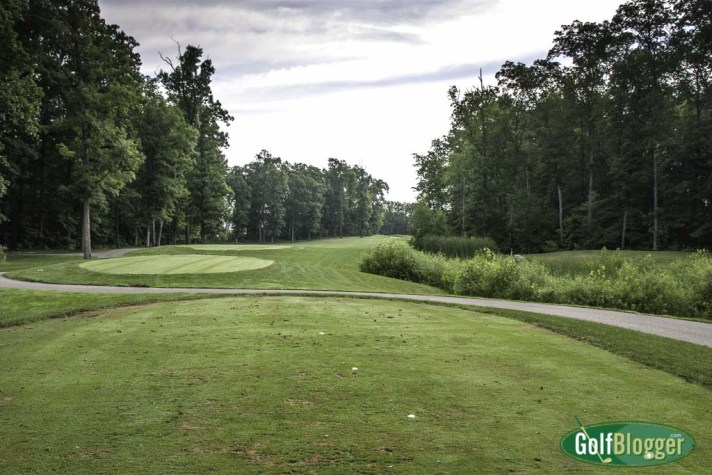 The sixteenth at Pierce Lake is a 540 yard par 5.