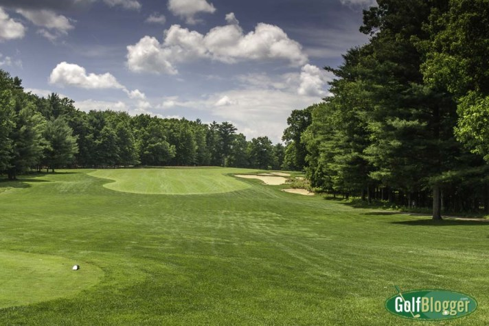 Pilgrim's Run's eleventh is a 549 yard par five