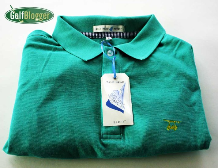 Bald Head Blues Golf Shirt