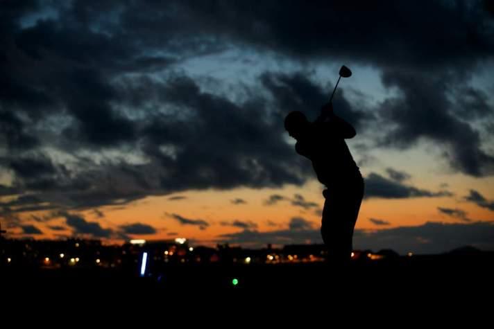 Night Golf at John Muir Coast Fest. Photo Credit: Rob McDougall/Greg MacVean