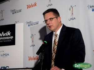 LPGA Volvik Championship Tournament Director Keith Karbo.