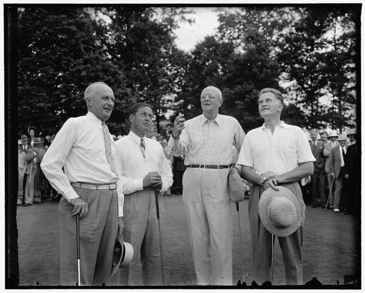 Bobby Jones and Attorney General At A Golf Outing