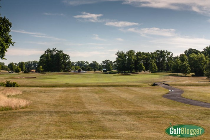 The eighteenth at Carrington is a 502 yard par 5.