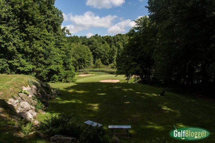 The third at Lake Doster is a 10 yard par 3.