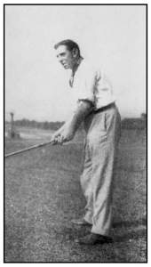 Willie Anderson at the 1909 Western Open.